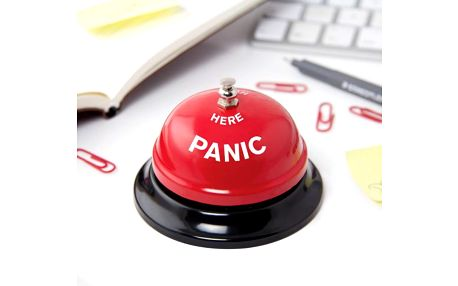 Zvonek do kanceláře Panic!
