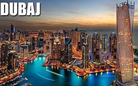 Až 7 exkluzivních dnů v Dubaji pro 1 osobu - 3* hotel, snídaně, výlety