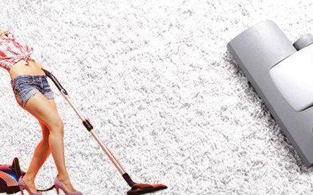 Strojní čištění koberců nebo čalounění s dopravou
