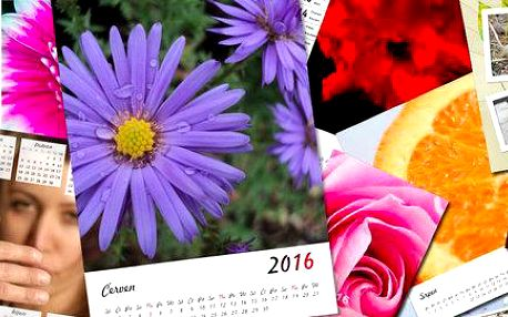 Vytvořte si nástěnné, stolní i plánovací fotokalendáře