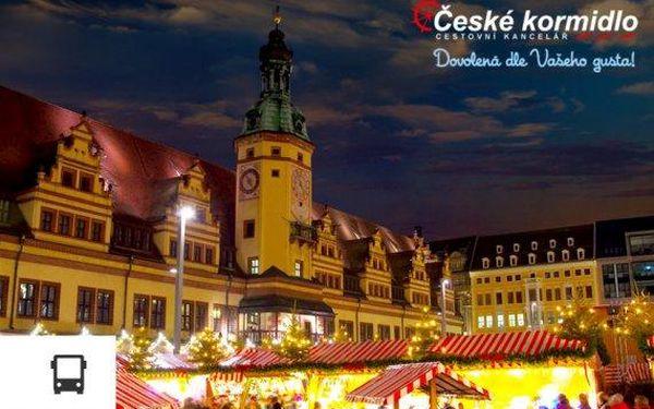 Vánoční trhy v Lipsku