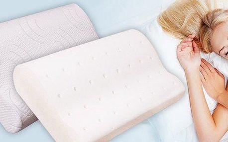 Polštář z líné pěny pro nerušený spánek