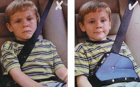Držák bezpečnostního pásu pro děti!
