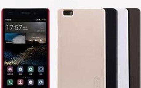 Nillkin Super Frosted kryt s folií pro Huawei P8 Lite hnědý