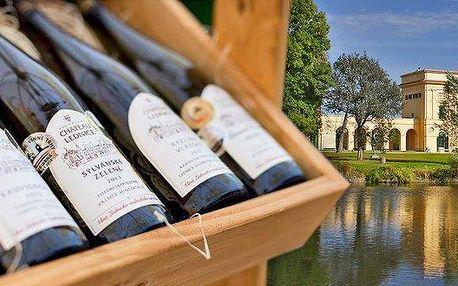Zážitkové poznání Valtické Podzemí s ochutnávkou vína