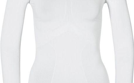 Odlo L/S Crew Neck Evolution Warm White, bílá, 40