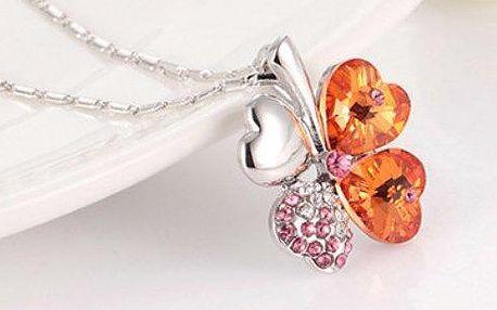 Šperk, který je naprosto ideálním elegantním dárkem, který bude nosit štěstí a radost.