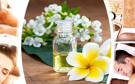 Ruční masáž zad a šíje s aromaterapií - dokonalý zážitek pro Vaše smysly.