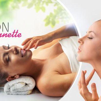 50minutové laserové ošetření obličeje, krku a dekoltu včetně zapracování arganového oleje a kolagenu.