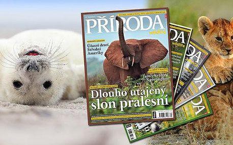 Předplatné časopisu Příroda
