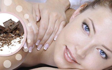 Relaxační masáž zad a šíje na 50 minut dle vlastního výběru - medová, čokoládová nebo lávové kameny.