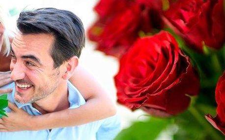 Holandské rudé růže BURGUNDY