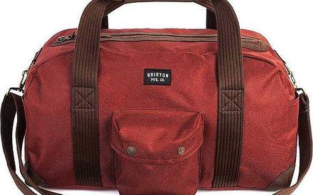 cestovní taška BRIXTON - Vagrant Duffle Red (0700) velikost: OS