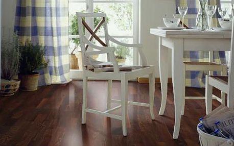 Dřevěná podlaha Akát pařený