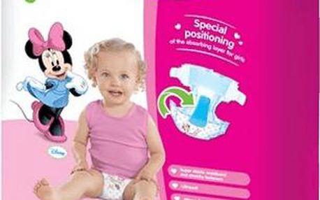 HUGGIES Ultra Comfort JUMBO GIRL Disney, vel. 4, 44 ks (8 - 14 kg)