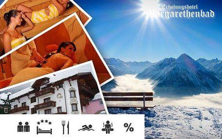 Zimní 4* wellness dovolená v Rakousku