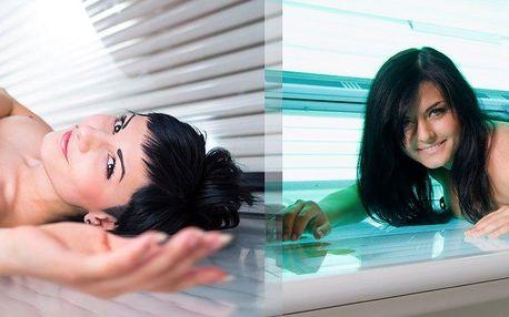 Udržte si krásně opálené tělo i když jste se vrátili z dovolené! 100 minut v soláriu ve Studiu Step.