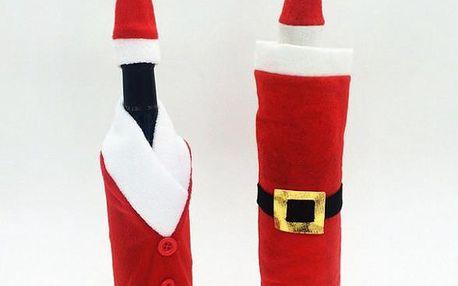 Vánoční obleček na víno Santa!