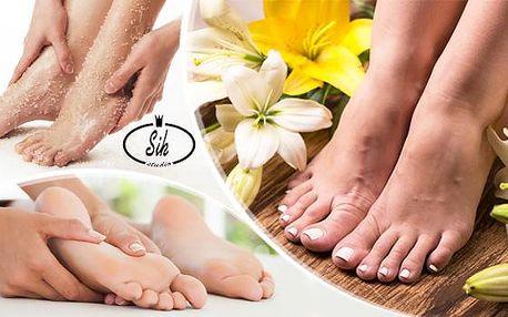 Základní nebo kombinovaná pedikúra s možností masáže, peelingu či lakování. Kompletní péče o chodidla v Hradci.