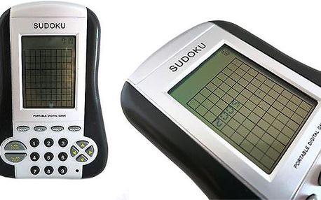 Elektronické sudoku Dracco s různými stupni obtížnosti