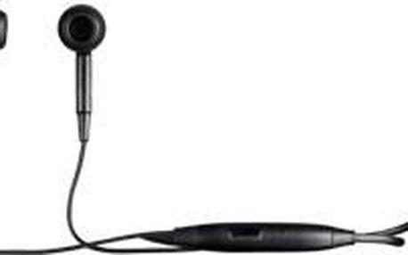 Sluchátka Sony Ericsson stereo HandsFree MH650 Black ROZBALENO