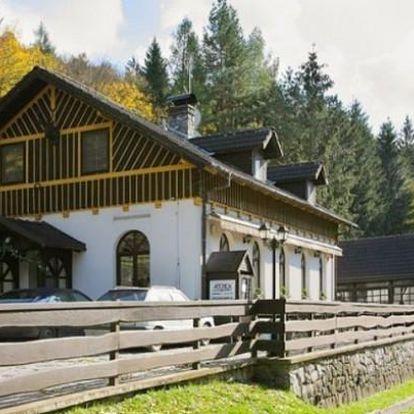 Moravský kras pro dva na stylovém ranči
