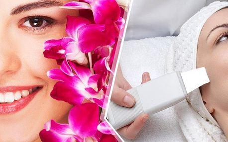 Hloubkové čistění pleti ultrazvukovou špachtlí a masáž obličeje v Brně! Čistí pokožku do hloubky.