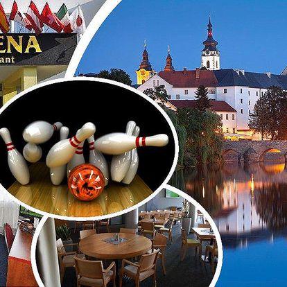 Pobyt pro dva s polopenzí v hotelu OtavArena v Písku se slevami na wellness a sportovní aktivity!
