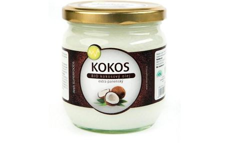 Bio kokosový olej AWA Superfood 400 ml!