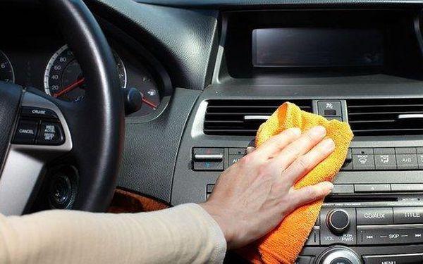Hloubkové čistění sedadel a interiéru…