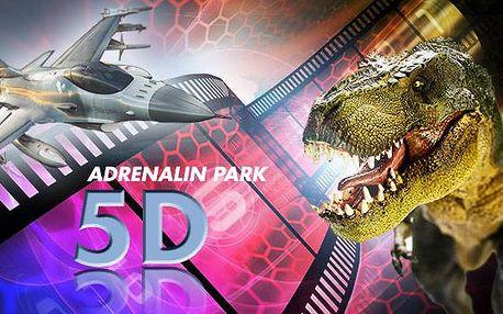 5D Adrenalin Park Plzeň - vstupenky do 5D kina na jakýkoli film pro 2 osoby nebo pro celou rodinu!