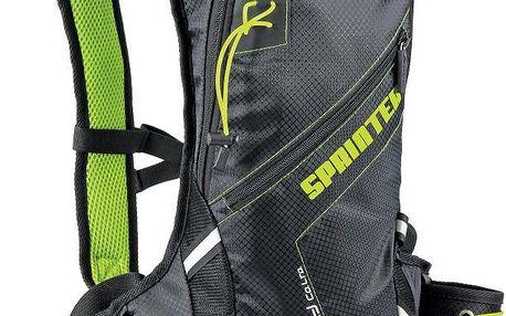 Spokey Sprinter cyklistický a běžecký batoh zelený