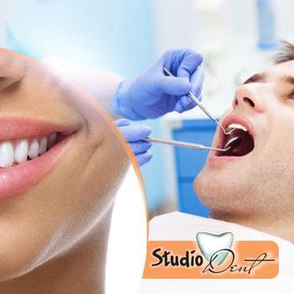 60minutová dentální hygiena s vyšetřením, leštěním zubů a možností fluoridace k posílení skloviny - Praha 10