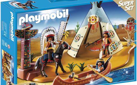 Playmobil 4012 - SuperSet Indiánská vesnice
