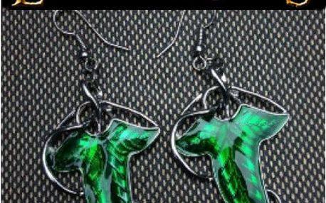 Náušnice z elfího lístku Lorien!