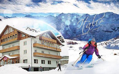 Itálie, Passo Tonale na 3 až 8 dní pro 1 osobu s polopenzí a skipasem! Hotel*** 300 m od sjezdovek, platí do dubna!