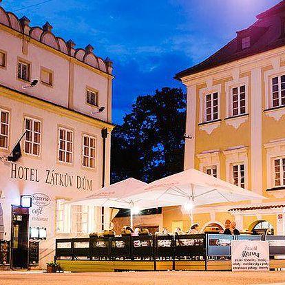 3 až 5 dnů v historickém centru Českých Budějovic pro 2 v hotelu Zátkův Dům