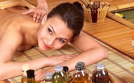 90 minutová antistresová nebo relaxační masáž