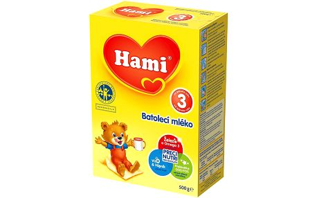 Hami 3 Batolecí mléko 500 g