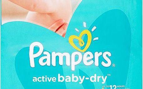 Pampers Active Baby-Dry Dětské jednorázové pleny 4 maxi 76 ks