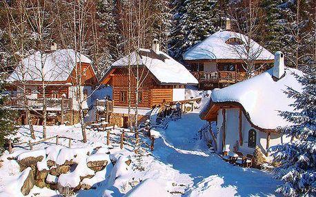 2denní nebo 3denní pobyt v Pohádkové vesničce na Vysočině
