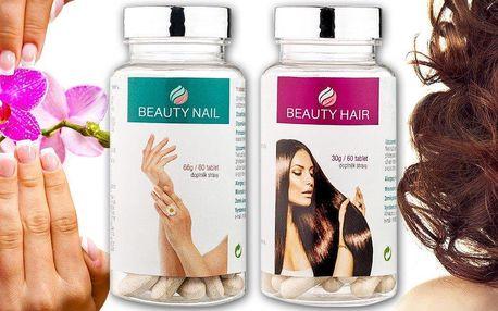 Výživa pro krásné vlasy nebo nehty