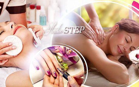 Den pro princeznu! Kosmetika, masáž, spa manikúra, pedikúra, body wrap, kadeřnický balíček a další!