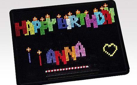 Luminodot - elektronická stavebnice s LED světélky - 3000 kolíčku!! Speciální nabídka!!