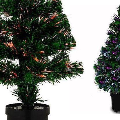 Vánoční dekorační stromek s osvětlením LED diodami s plynulou změnou devíti barev