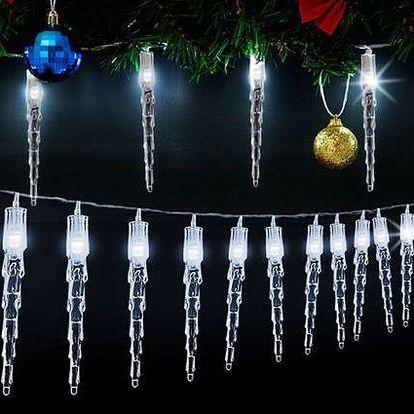 Vánoční dekorační řetěz se 40 LED světýlky i pro venkovní použití