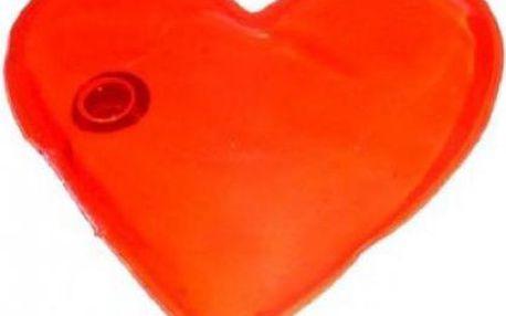 Velké hřejivé srdíčko - romantický a zároveň hřejivý dárek!