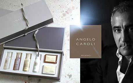 Dárková kazeta luxusní italské kosmetiky MOOD od Angela Caroli. Obsahuje celkem 6 kusů TOP kosmetických přípravků.