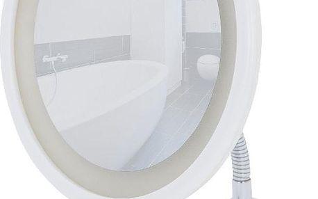 Kosmetické zrcadlo s LED světlem, bílé