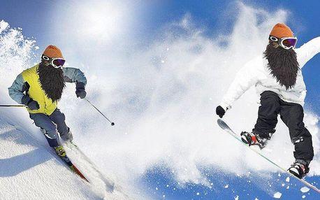Stylové lyžařské a snowboardové masky